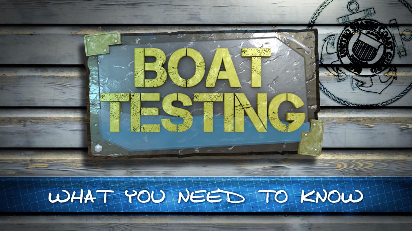 BOAT TESTING