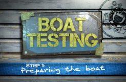 Step 1 - Preparing The Boat