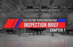 Factory Inspection - Chapter 1