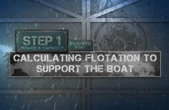 8. Capacity Label - Calculating Flotation To Support The Boat