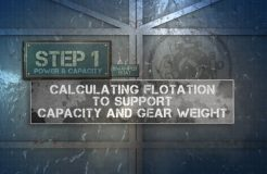 9. CapacityLabel - Capacity and Gear Weight