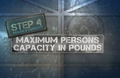 5. Capacity Label - Maximum Persons Capacity In Pounds