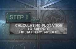 10. Capacity Label - Capacity and Battery Weight