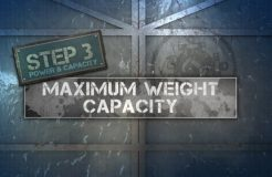 4. Capacity Label - Maximum Weight Capacity